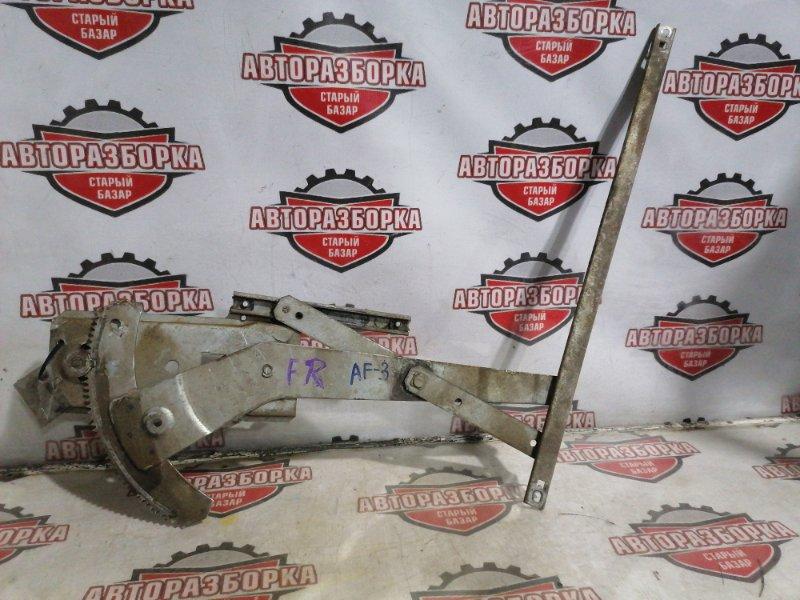 Стеклоподъемник Subaru Leone AF3 EA81 правый (б/у)