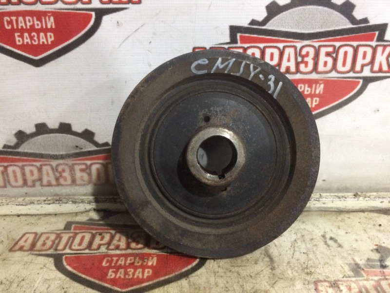 Шкив коленвала Nissan Cedric CMJY31 RB20(P) 2001 (б/у)