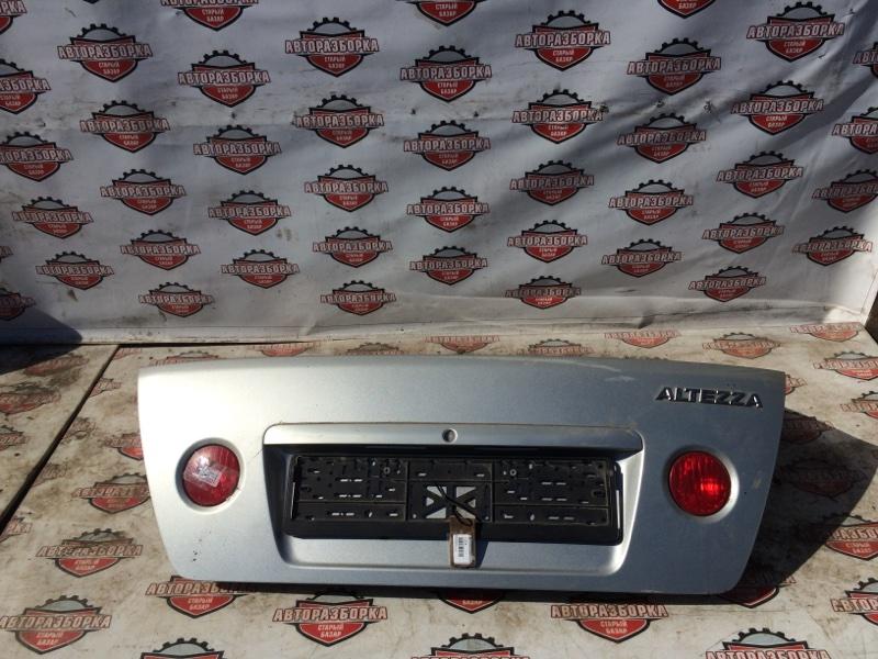 Крышка багажника Toyota Altezza SXE10 (б/у)