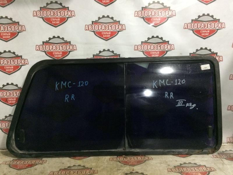 Стекло боковое Nissan Vanette KMC120 Z20S заднее правое (б/у)