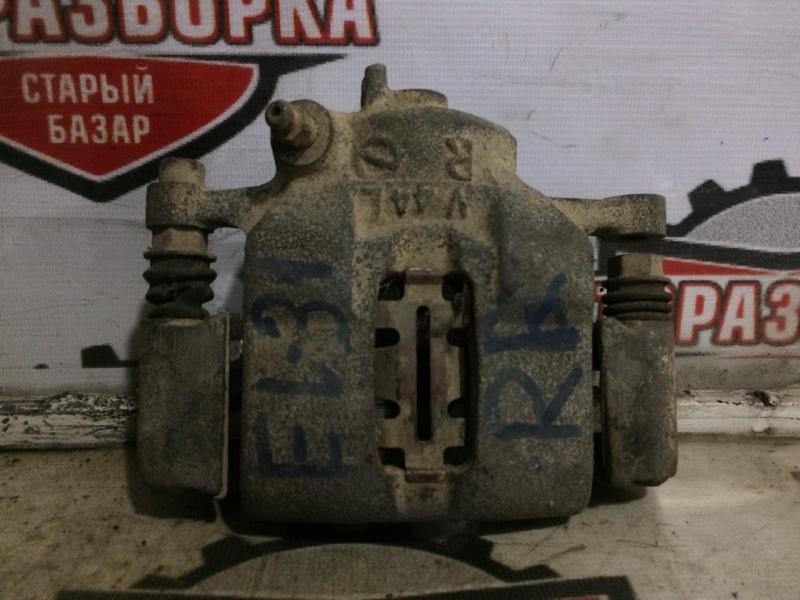 Суппорт тормозной Toyota Corsa EL31 задний правый (б/у)
