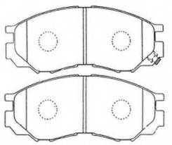 Колодки тормозные Mitsubishi Pajero P13T передние