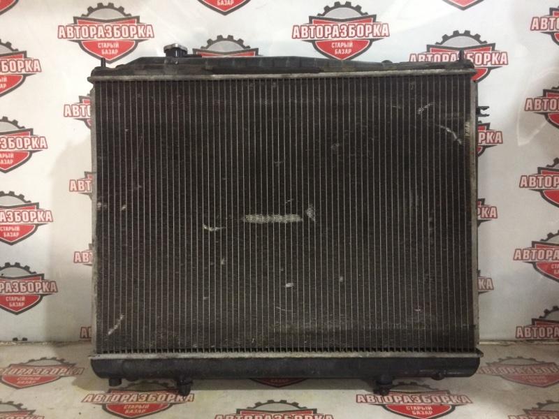 Радиатор охлаждения двигателя Nissan Terrano LR50 VG33E 1996 (б/у)
