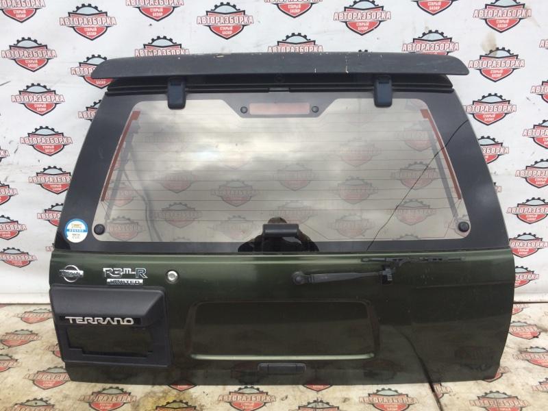 Дверь багажника Nissan Terrano LR50 VG33E 1996 (б/у)