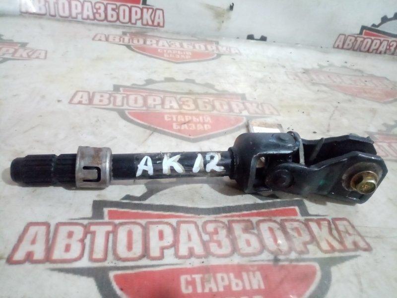 Карданчик рулевой Nissan March AK12 CR12(DE) 2004 (б/у)