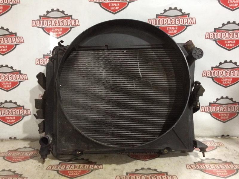 Радиатор охлаждения двигателя Toyota Hiace LH186 5L 2001 (б/у)