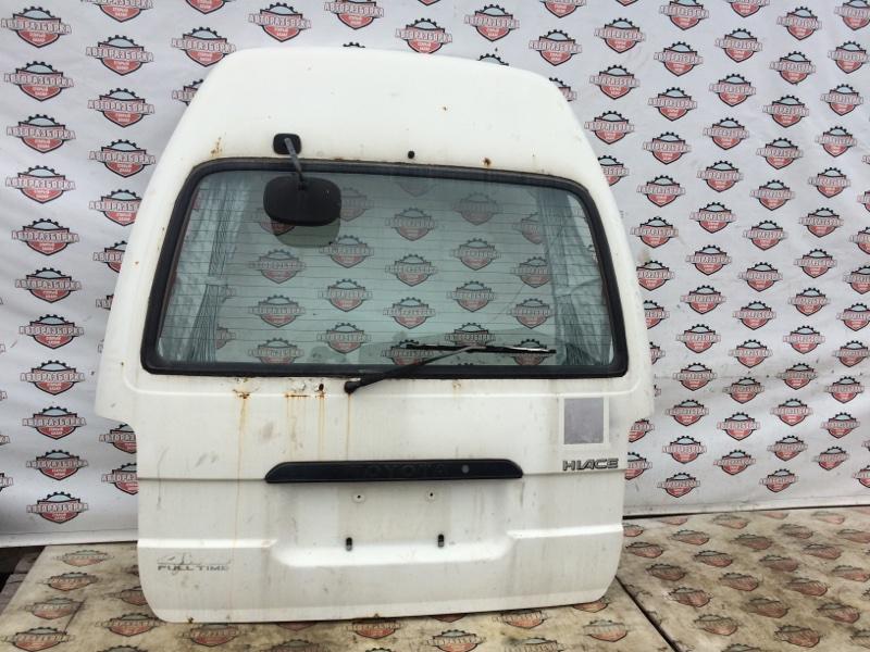 Дверь багажника Toyota Hiace LH186 5L 2001 (б/у)