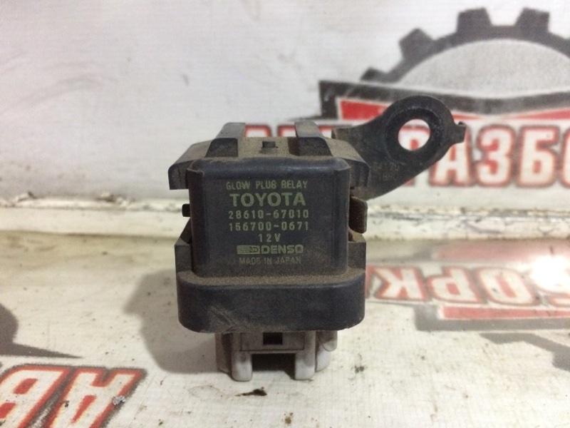 Реле накала свечи Toyota Hiace LH186 5L 2001 (б/у)