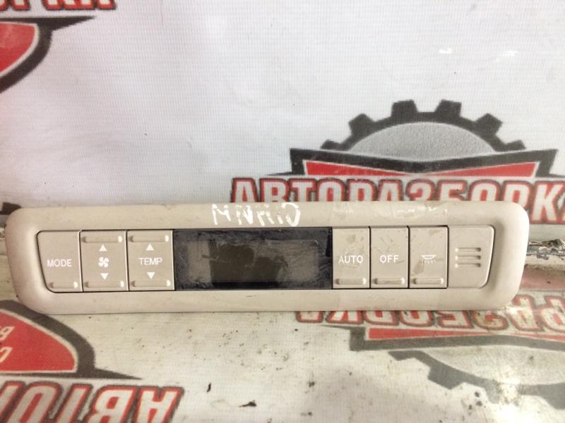 Блок климат-контроля Toyota Alphard MNH10 1MZFE 2004 задний (б/у)
