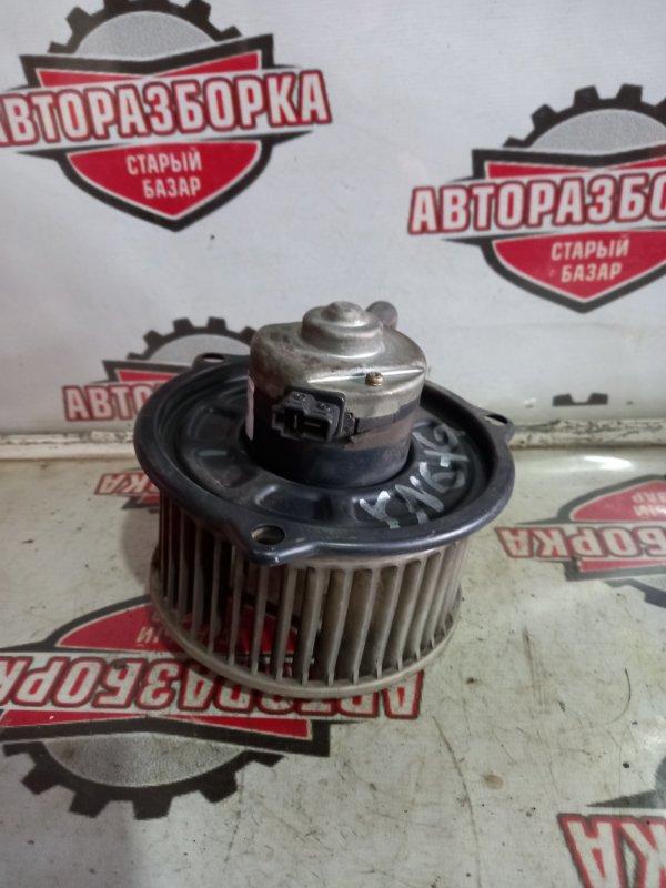 Мотор печки Toyota Hilux YN61G 3YEU 1989 (б/у)