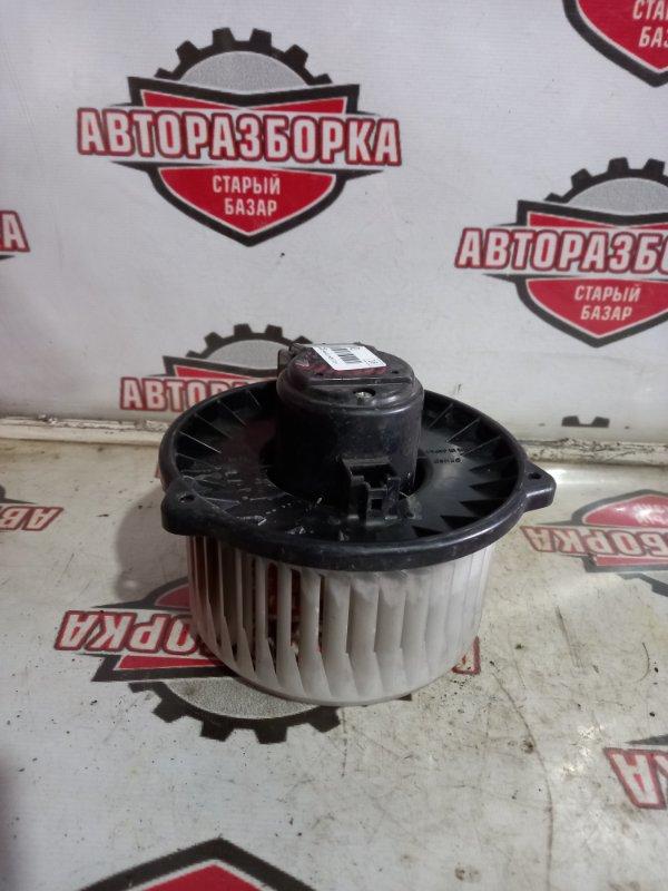 Мотор печки Toyota Alphard MNH10 1MZFE 2004 задний (б/у)