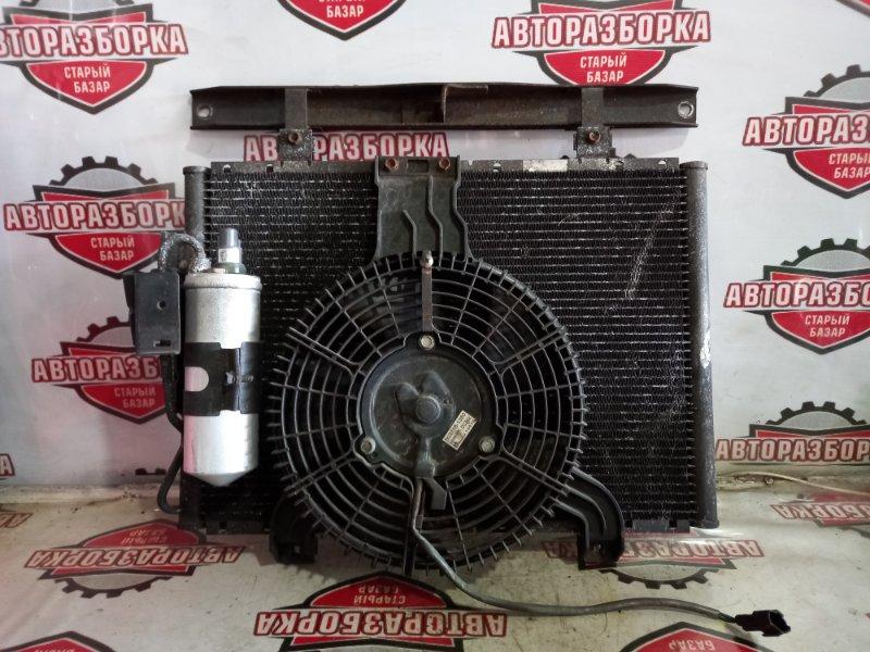 Радиатор кондиционера Isuzu Elf NKR71E 4HG1 1999 (б/у)