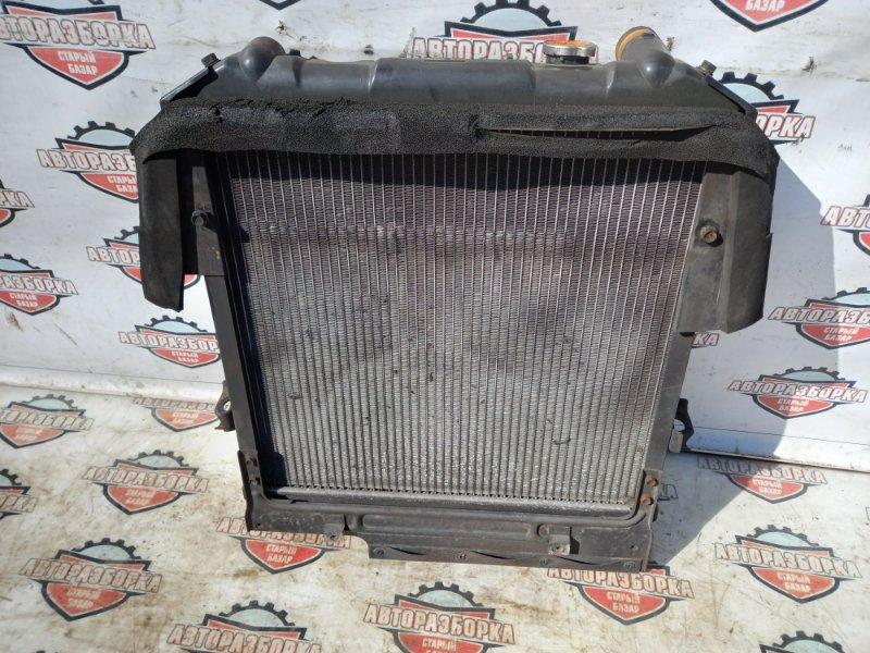 Радиатор охлаждения двигателя Isuzu Elf NKR71E 4HG1 1999 (б/у)