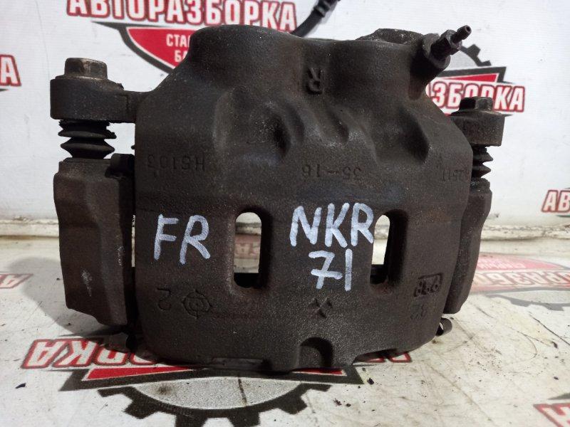 Суппорт тормозной Isuzu Elf NKR71E 4HG1 1999 передний правый (б/у)