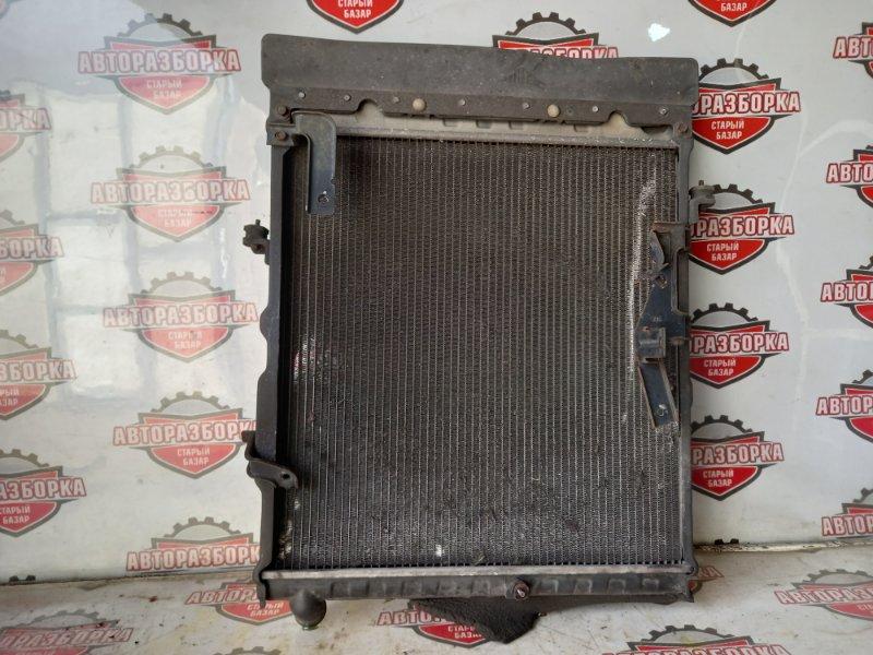 Радиатор охлаждения двигателя Mazda Titan WH69G 4HG1 2004 (б/у)