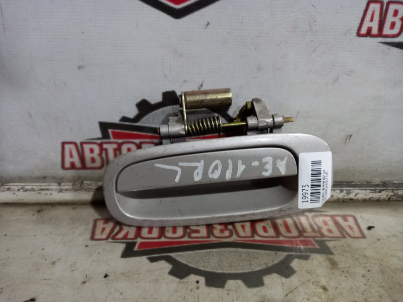 Ручка двери наружная Toyota Corolla AE110 5AFE задняя левая (б/у)
