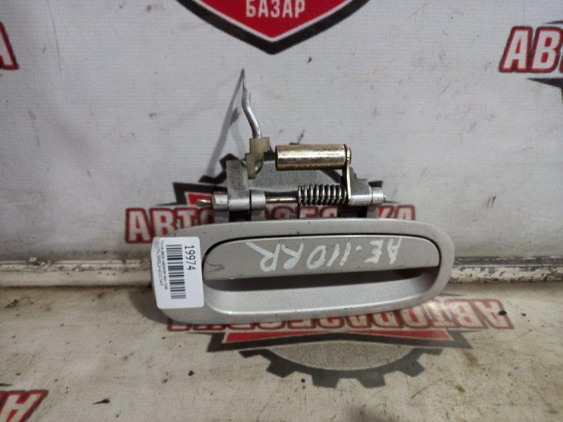 Ручка двери наружная Toyota Corolla AE110 5AFE задняя правая (б/у)