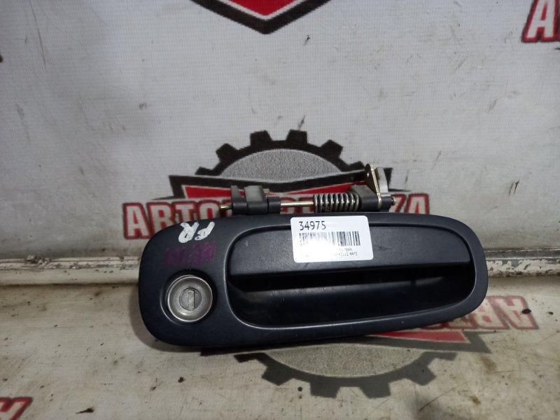 Ручка двери наружная Toyota Sprinter Carib AE111 4AFE передняя правая (б/у)