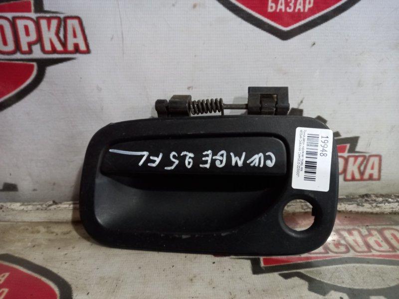 Ручка двери наружная Nissan Caravan CWMGE25 ZD30DDTI передняя левая (б/у)