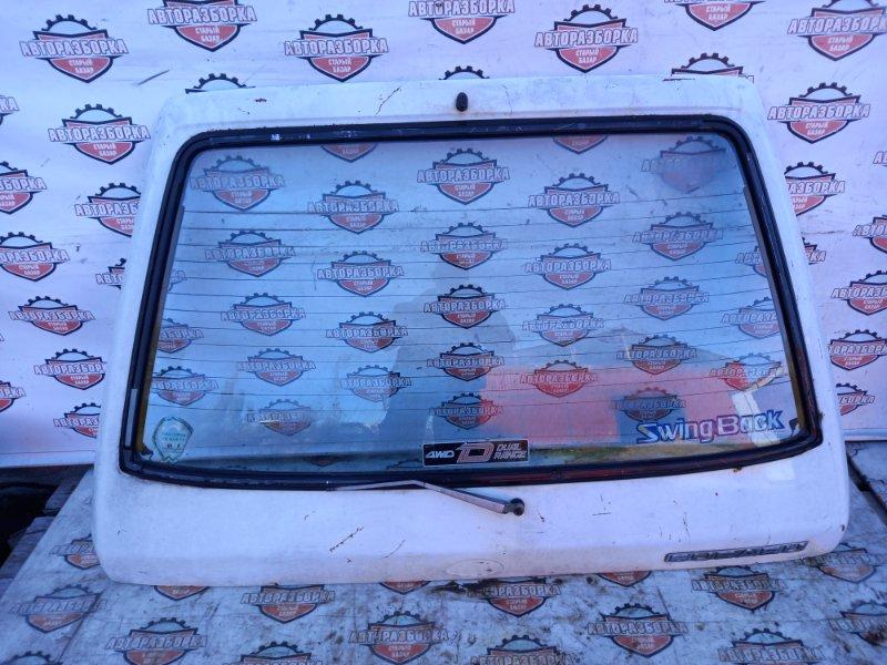 Дверь багажника Subaru Leone AF3 EA81 задняя (б/у)