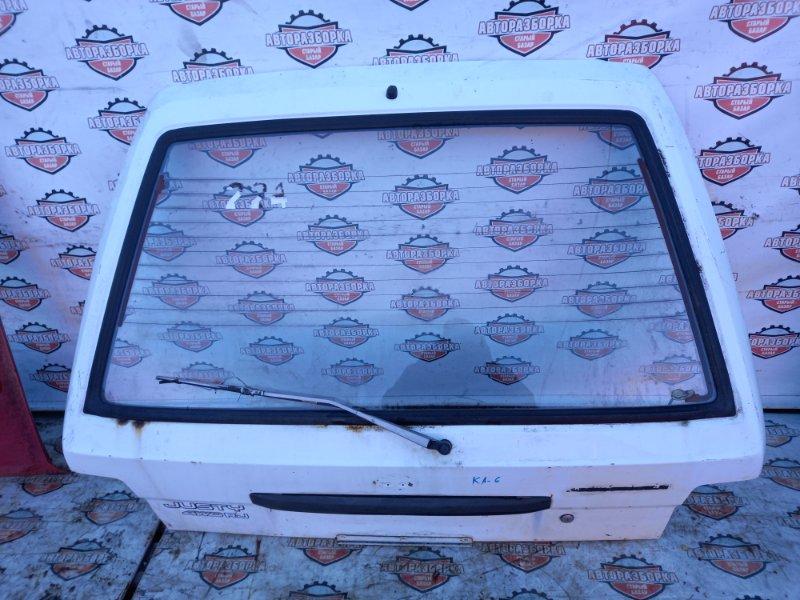 Дверь багажника Subaru Justy KA6 EF10 1984 (б/у)