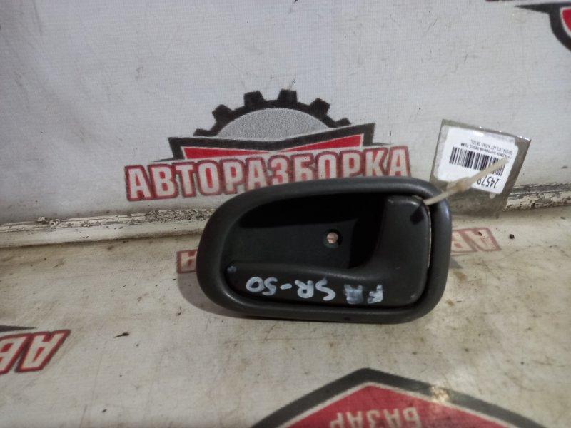 Ручка двери внутренняя Toyota Lite Ace Noah SR50G передняя правая (б/у)