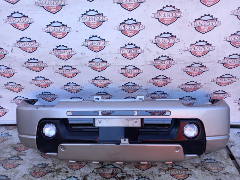 Бампер Suzuki Jimny JB23W K6A 2001 передний (б/у)