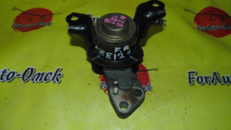 Подушка двигателя Toyota Fielder NZE121 1NZ-FE передняя правая
