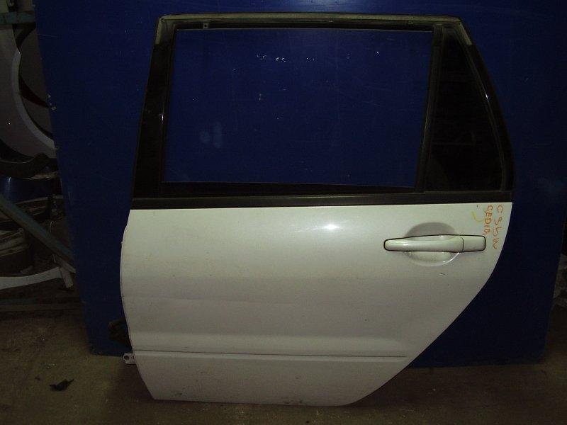 Дверь Mitsubishi Lancer Cedia Wagon CS2W задняя левая (б/у)