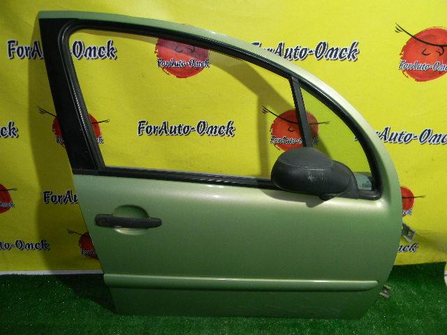 Дверь Citroen C3 F 2003 передняя правая (б/у)