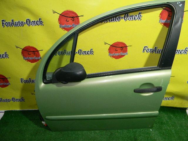 Дверь Citroen C3 F 2003 передняя левая (б/у)