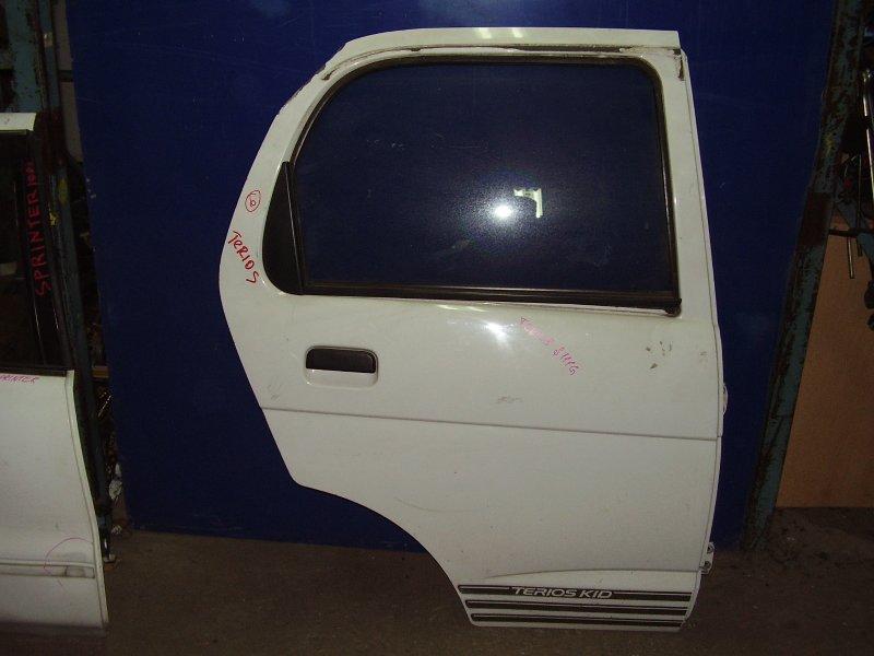 Дверь Daihatsu Terios J100E задняя правая (б/у)