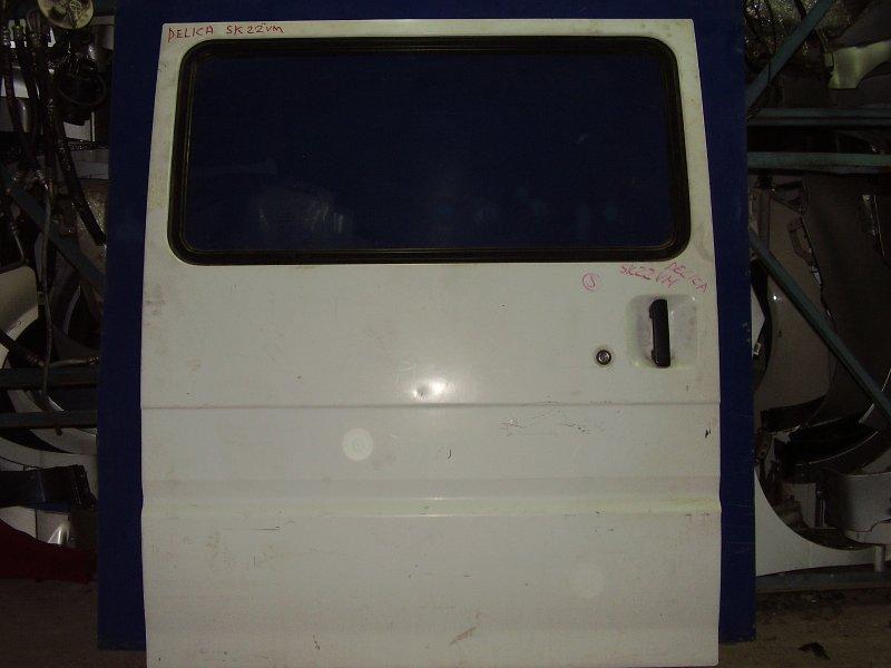 Дверь Nissan Bongo SK22M задняя правая (б/у)