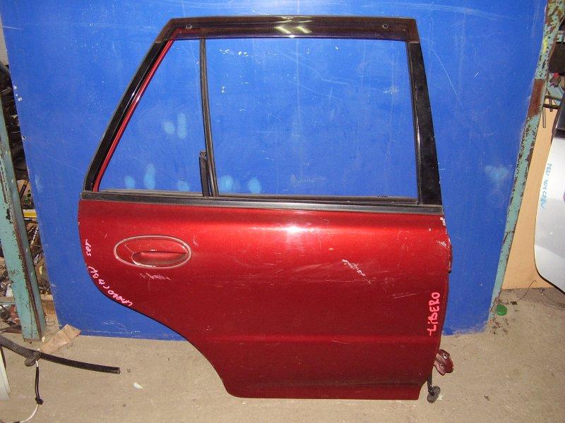 Дверь Mitsubishi Libero CB2W задняя правая (б/у)