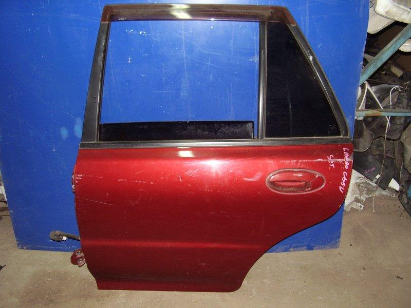Дверь Mitsubishi Libero CB2W задняя левая (б/у)