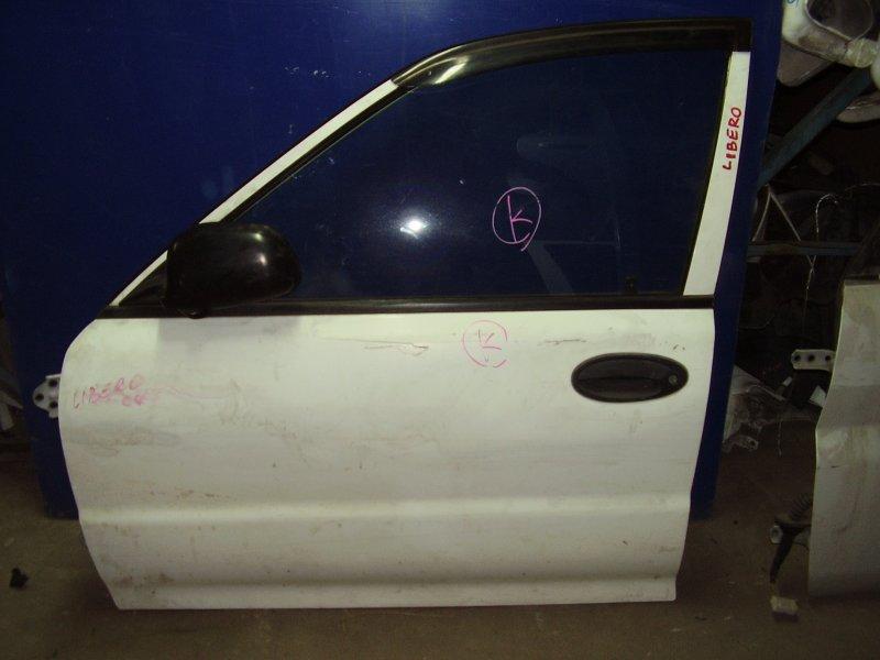 Дверь Mitsubishi Libero CB2W передняя левая (б/у)