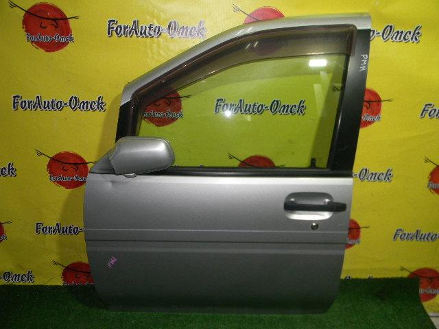 Дверь Nissan Prairie Joy PM11 передняя левая (б/у)