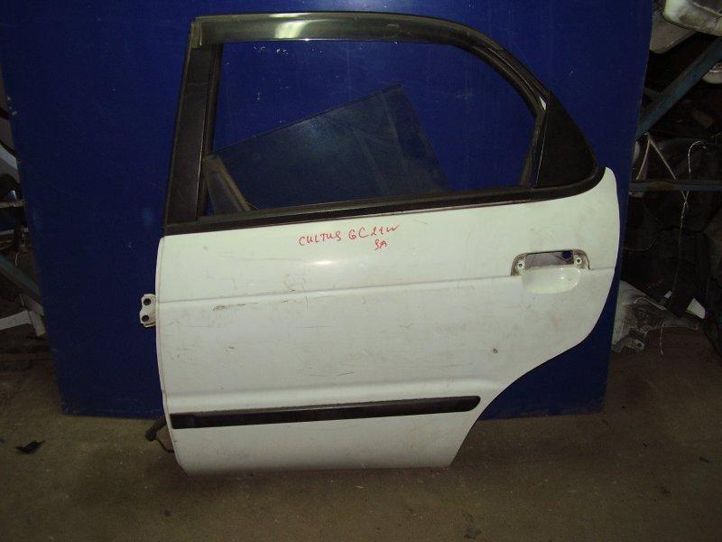 Дверь Suzuki Cultus GC21W G15A задняя левая (б/у)