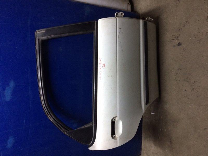 Дверь Suzuki Cultus GC21W G15A задняя правая (б/у)