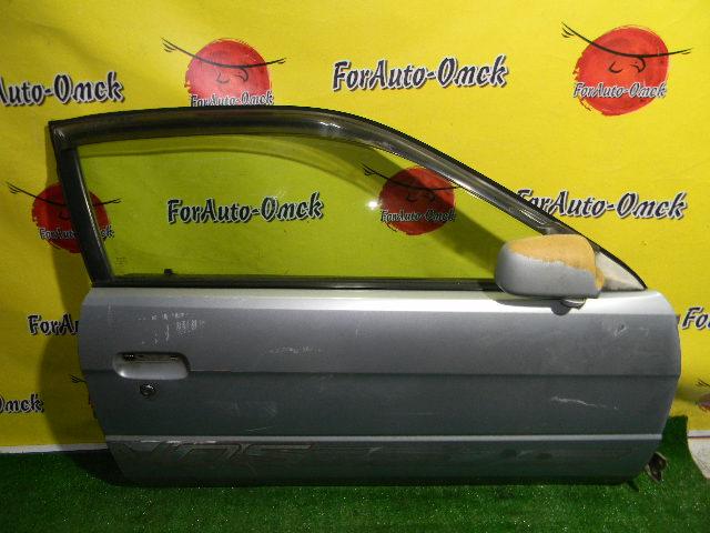 Дверь Toyota Cynos EL52 передняя правая (б/у)