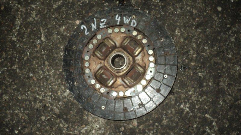 Диск сцепления Toyota Corolla NZE121 2NZ-FE