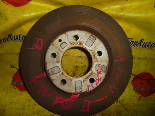 Диск тормозной Mazda Eunos 800 LW3W передний (б/у)