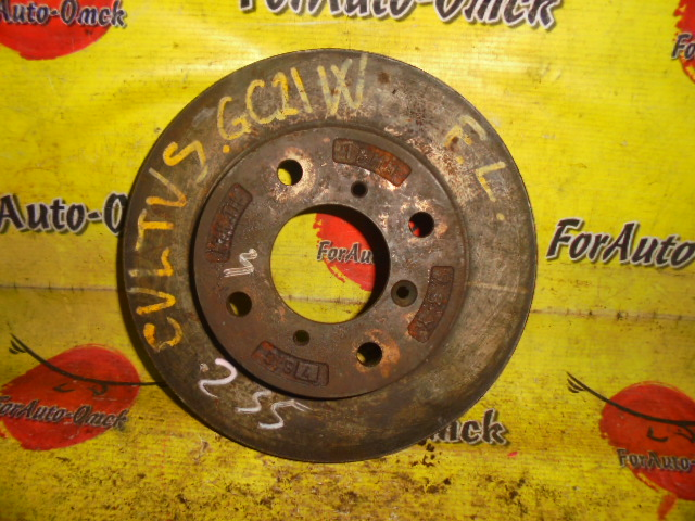 Диск тормозной Suzuki Cultus GC21W G15A