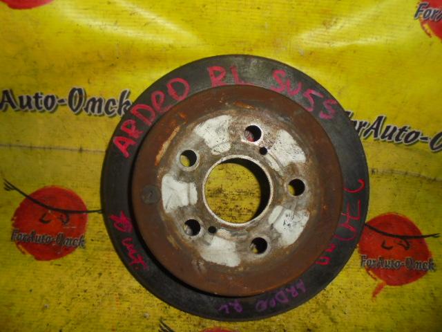 Диск тормозной Toyota Caldina ACT10 задний (б/у)