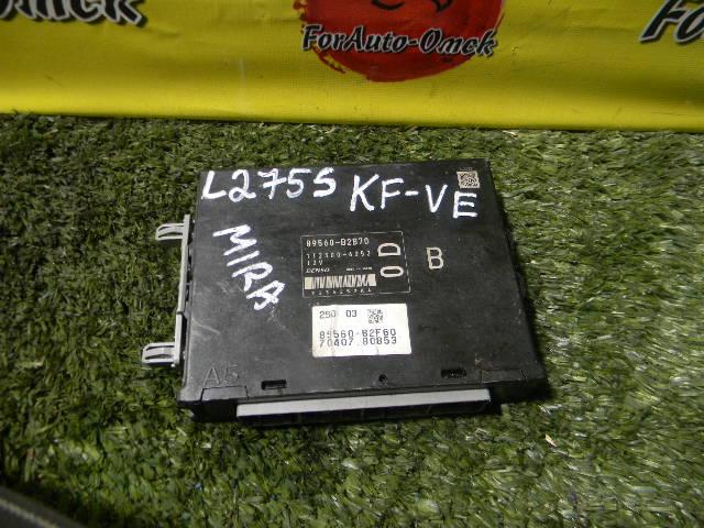 Блок управления efi Daihatsu Mira L275S KF-VE