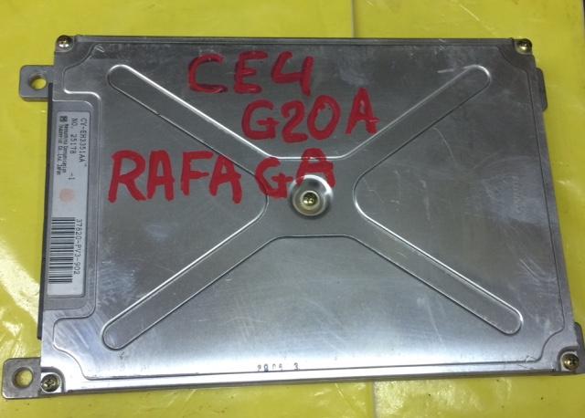 Блок управления efi Honda Rafaga CE4 G20A