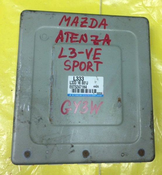 Блок управления efi Mazda Atenza Sport GY3W L3-VE
