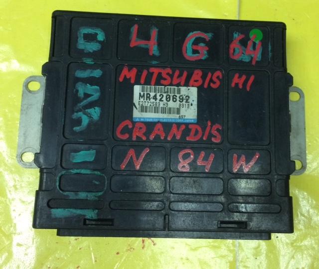 Блок управления efi Mitsubishi Grandis N84W 4G64