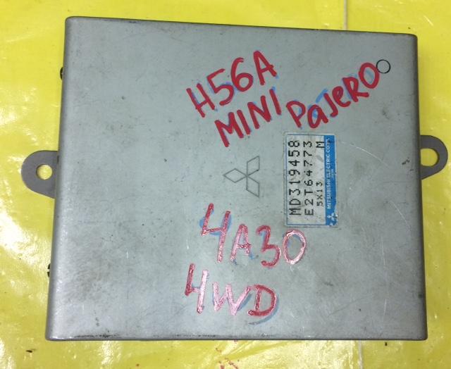 Блок управления efi Mitsubishi Pajero Mini H56A 4A30