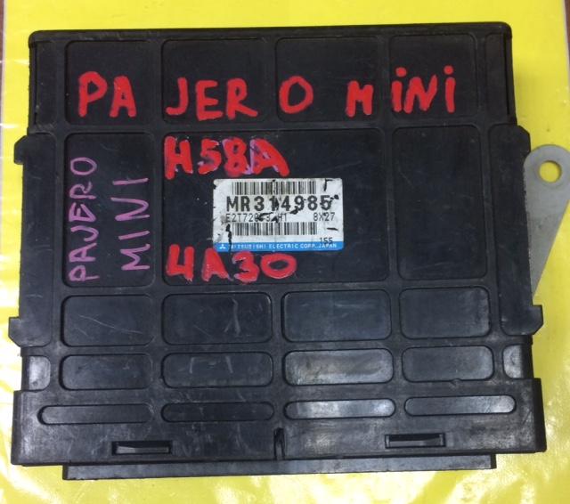 Блок управления efi Mitsubishi Pajero Mini H58A 4A30